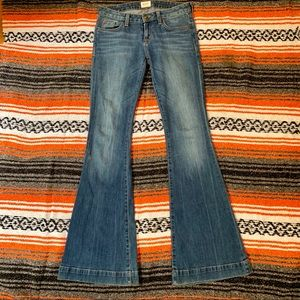 HUDSON LOW RISE FLAIRS Size 25